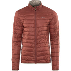 Meru Seattle Gevoerde Jas Heren, russet brown